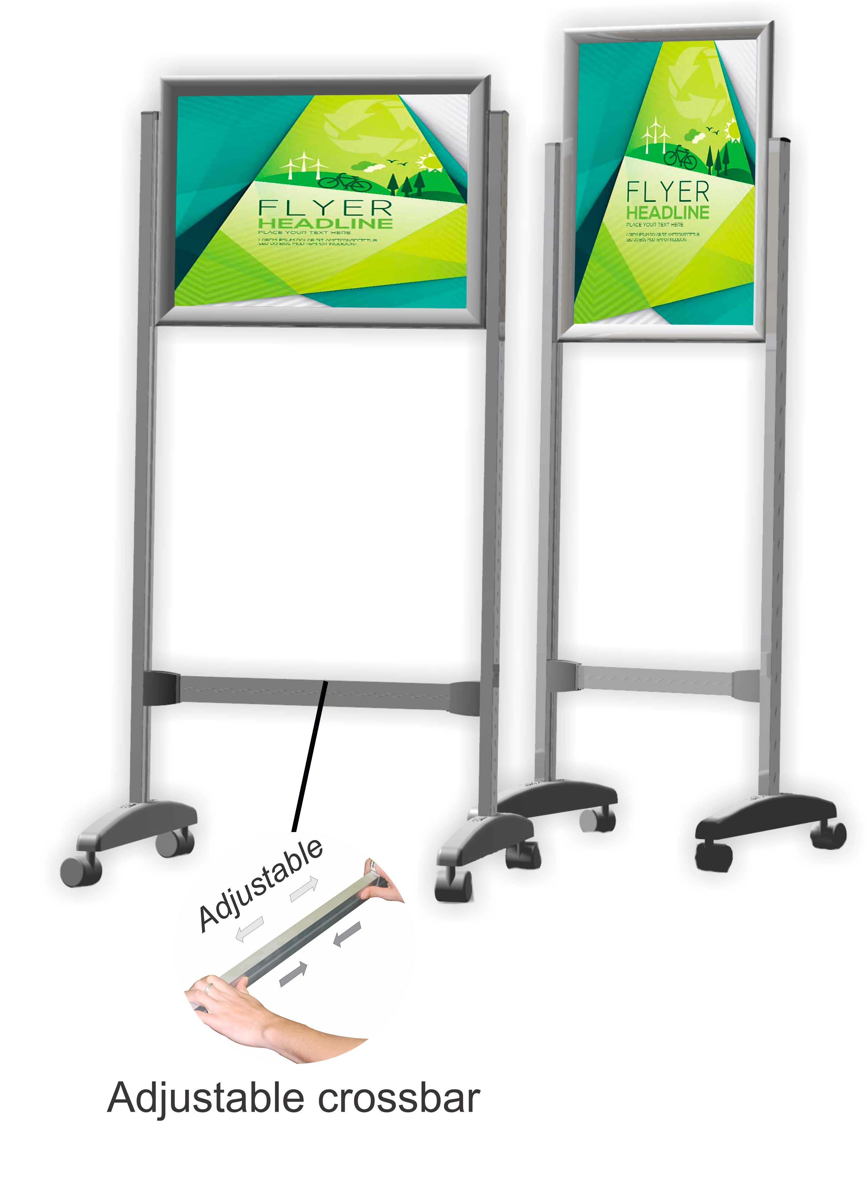 Poster Frame Stands - Double Sided | Beyond Revelation | Whiteboards ...