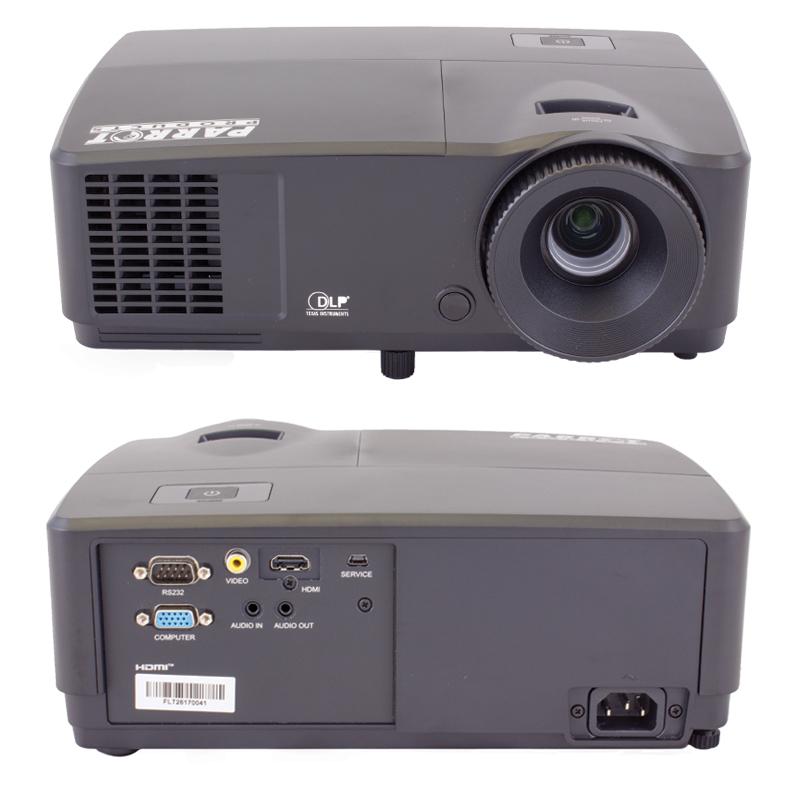 Projector parrot dlp xga hdmi beyond revelation for Dlp micro projector