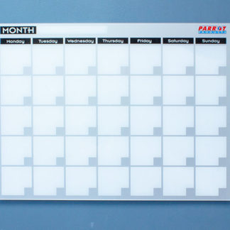 Monthly Planner Cast Acrylic 600 X 450mm