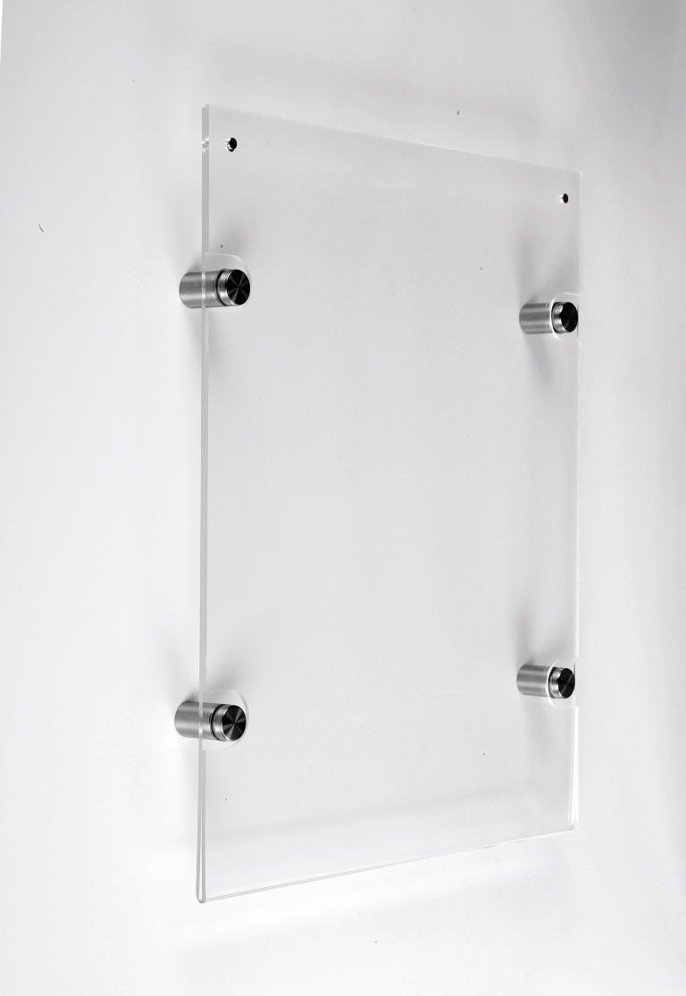 A4 Acrylic Wall Mounted Certificate Holder Dp2004