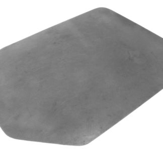 Carpet Protector (Non Slip, Silver, Tapered Rectangle, 1200 x 900 x 2.75mm)