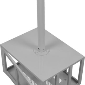 Projector Ceiling Mounting Bracket (Lockable Security Cage,450x220x340mm)